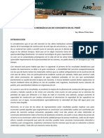 Informe EspecialConcreto OBRAS HIDRÁULICAS PERÚ