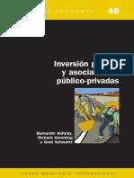 Inversion Publica y Asociaciones Publico Privadas