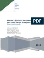 Los Costos y Presupuestos en Proyetos de Inversion (1) (1)