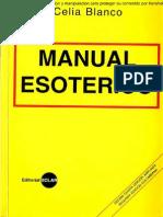 Manual Esoterico - Celia Blanco