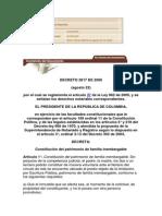 Decreto 2817 2006 Patrimonio de Familia