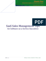 Saas Sales Management Tips