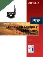 Temario y Apuntes de Liderazgo y Trab en Equipo