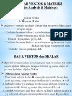 Aljabar Vektor Matriks Kuliah 1 Smstr 2 Utk Amik Al Muslim Bekasi1