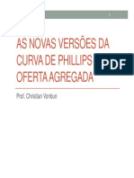 7-As novas versões da curva de phillips