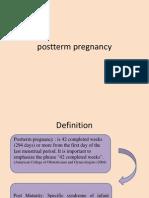 Prolonged Pregnancy