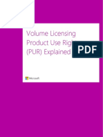 PUR Explained