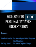 Personality Done