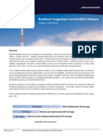 Backhaul Congestion Control (BCC) Feature
