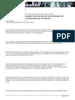 Solo 90 compañías causaron dos tercios de las emisiones de calentamiento global producidas por el hombre Goldenberg.pdf