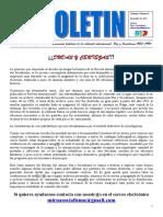 Sexto Boletín del Ateneo Paz y Socialismo