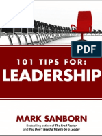 101 Tips for Leadership eBook