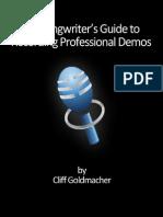 Songwriters Guide e Book