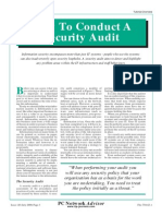 How to Conduct Security Audit