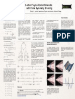 Prebiotic Multi-letter Polymerization Networks with Chiral Symmetry Breaking