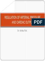 REGULATION OF ARTERIAL PRESSURE AND CARDIAC OUTPUT