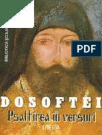 Dosoftei - Psaltirea in Versuri (Aprecieri)