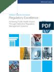 Achieving Public Health Impact Through Distinctive Regulatory Management Systems