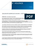Bill 168 WorkplaceViolence3stepguide