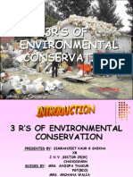 3 R's of Environment