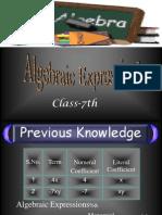 Algebriac Expression