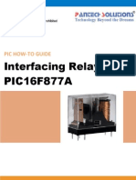 Relay Interfacing With PIC16F877A Friendly