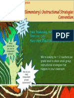 small group flyer