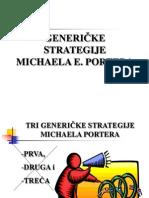 Generičke strategije Michaela Portera