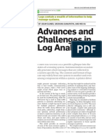 Advances and Challenges in Log - Adam Oliner, Archana Ganapathi,