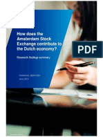 How Does the Amsterdam Stock Exchange Contribute to the Dutch Economy