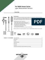 TD Dissolved Oxygen Sensor IP6000 en 52206266 Aug2012