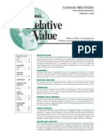 Lehman Global Relative Value