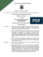 Peraturan Daerah Kabupaten Cirebon Nomor 17 Tahun 2011 Tentang Rencana Tata Ruang Wilayah Kabupaten Cirebon Tahun 2011 - 2031