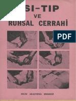 Kitap 38 Psı-Tıp ve Ruhsal Cerrahi