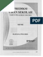 Prediksi Ujian Sekolah Bahasa Iggris 2012