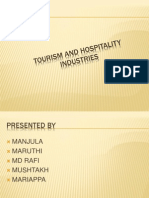 Tourism and Hospitality Industries Mba