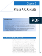 Three-Phase a.C. Circuits
