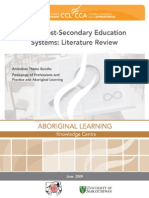 Metis Post Secondary Education Review