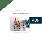 Adafruit Arduino Lesson 9 Sensing Light