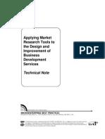 Applying Market Research