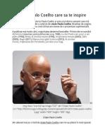 12 Citate Paulo Coelho Care Sa Te Inspire