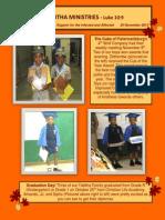 Newsletter 25 Nov 2013