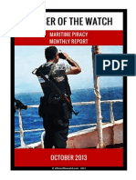 OOW - Piracy Monthly Report 2013.10