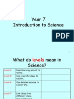 year 7 introduction to science 2009