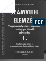 SZÁMVITEL-ELEMZÉS 1. Vizsgafeladatok és megoldások a mérlegképes könyvelő szakvizsgához