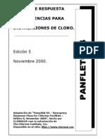 Panfleto 64 - Planes de Respuesta a Emergencias Para Istalaciones de Cloro - Espanhol[1]