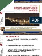 Plan.proteccion.conservacion.catalogacion.ante.Emergencias.conjunto.historico.avila.alfrEDO.delgADO