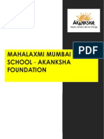 About Akanksha NGO
