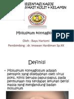 presentasi moluskum kontagiosum