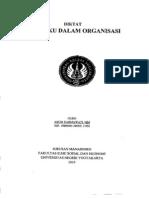 Perilaku Dlm Organisasi